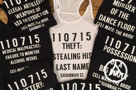custom bachelorette t-shirts