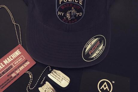 custom police hats