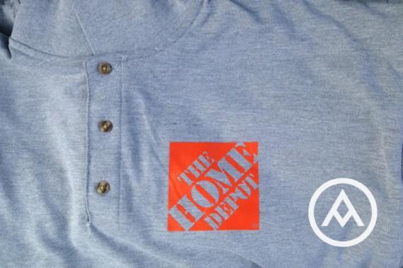custom home depot shirts