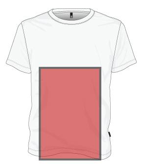screen printing bottom of shirt