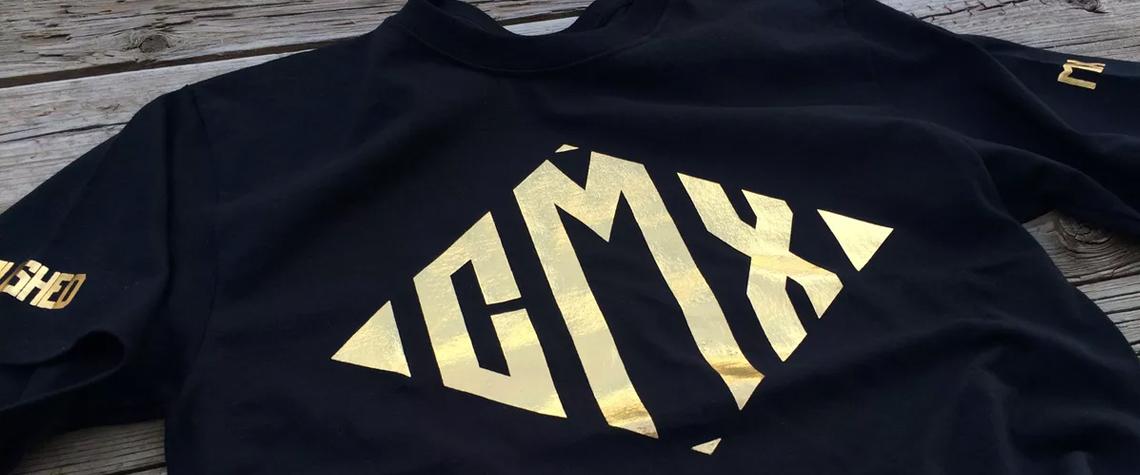 custom foiled t-shirts