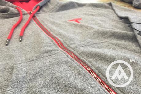 custom cut and sew hoodies